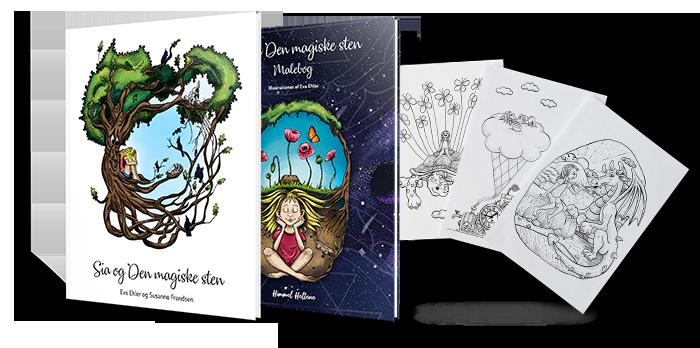 2-bogpakke-Sia-og-den-magiske-sten